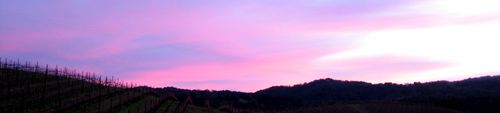 Sunset panorama 3