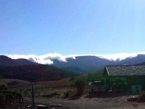Clouds over santa lucias