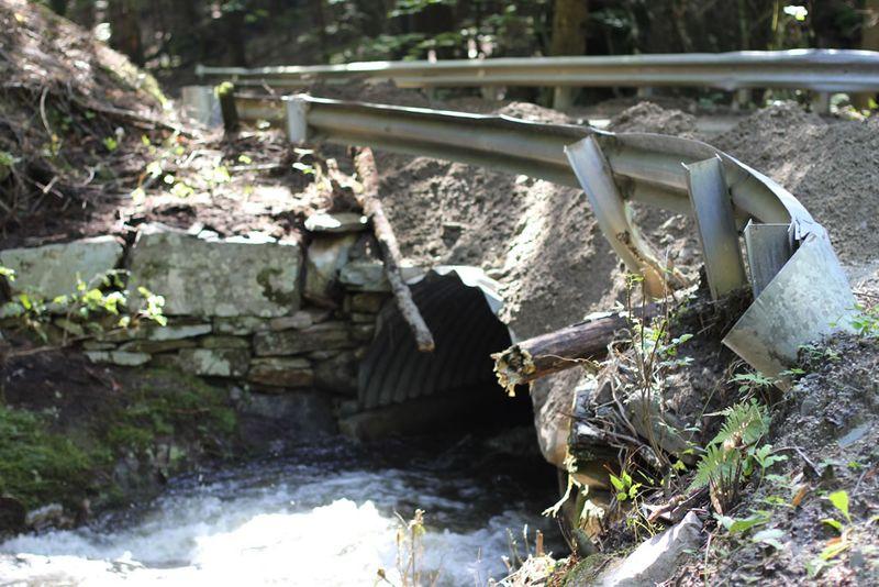 Irene - bridge damage