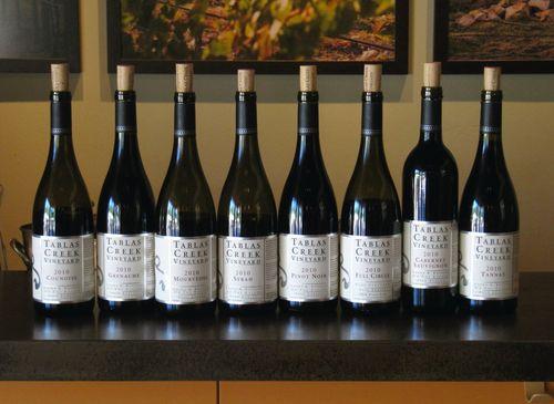 2010 red varietal wines