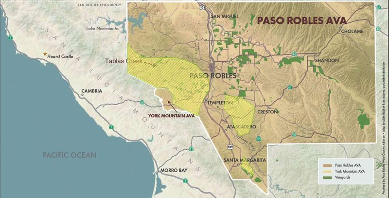 Paso Robles calcareous overlay