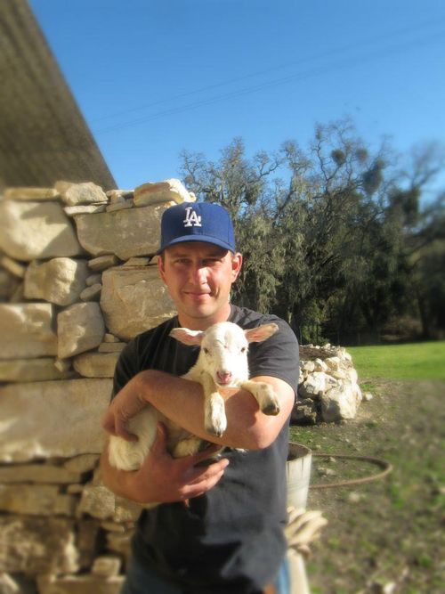Shawn with luis