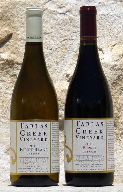 Esprit de Tablas bottles