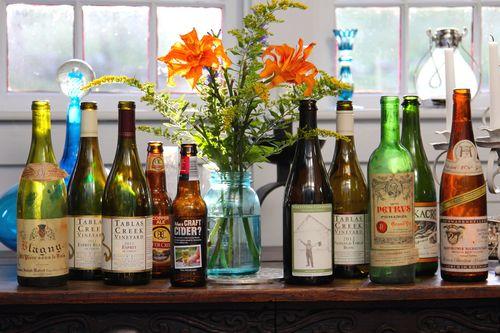 RZH - bottles on porch