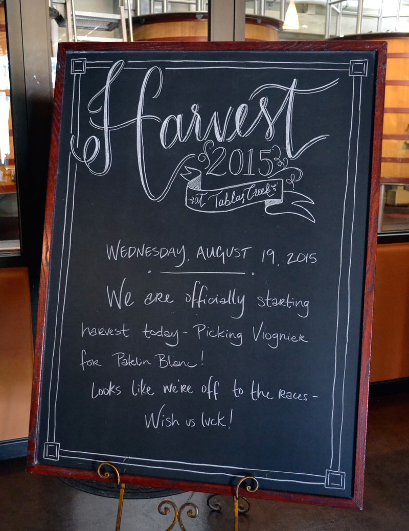 First day of harvest 2015 sign edited