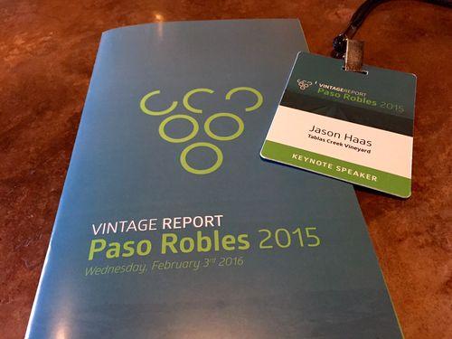 JH Keynote Speaker Vintage Report 2015