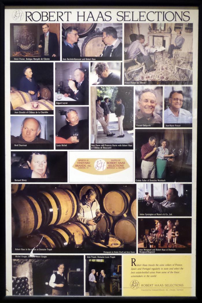 Robert Haas Selections poster