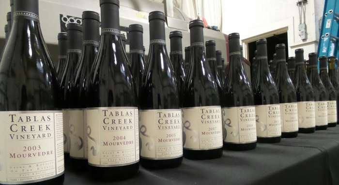 Mourvedre Vertical