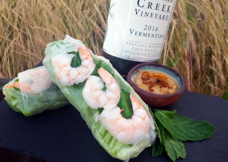 Verm shrimp roll