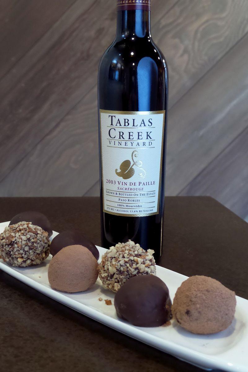 Bottle & truffle Vert