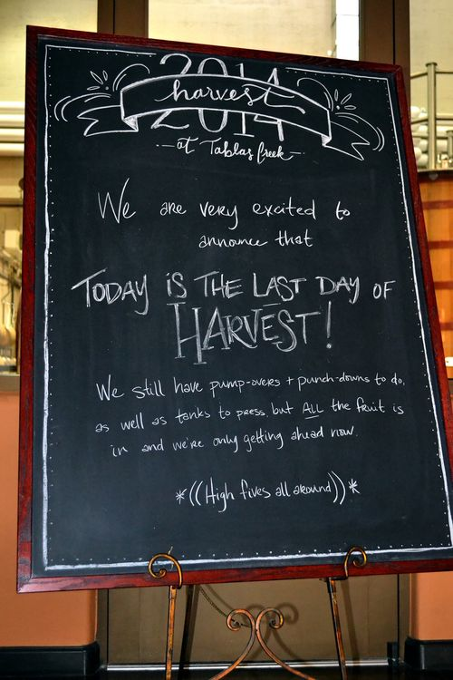 Last Day of Harvest