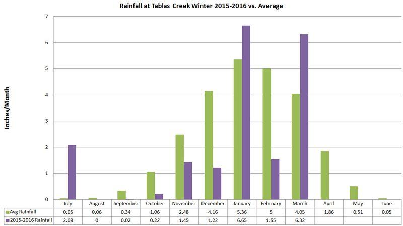 Winter Rainfall