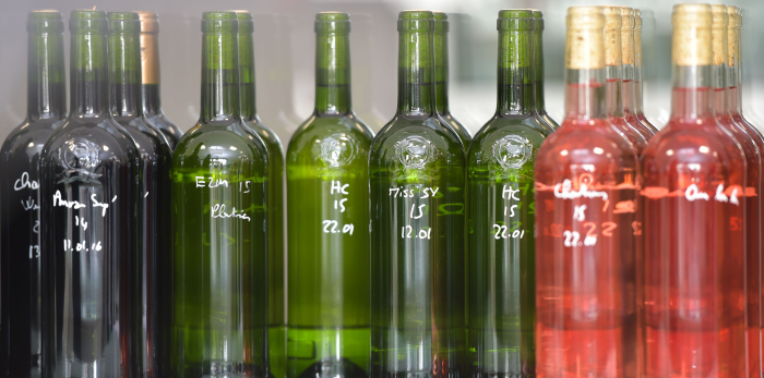 Stock photo - wines in lab