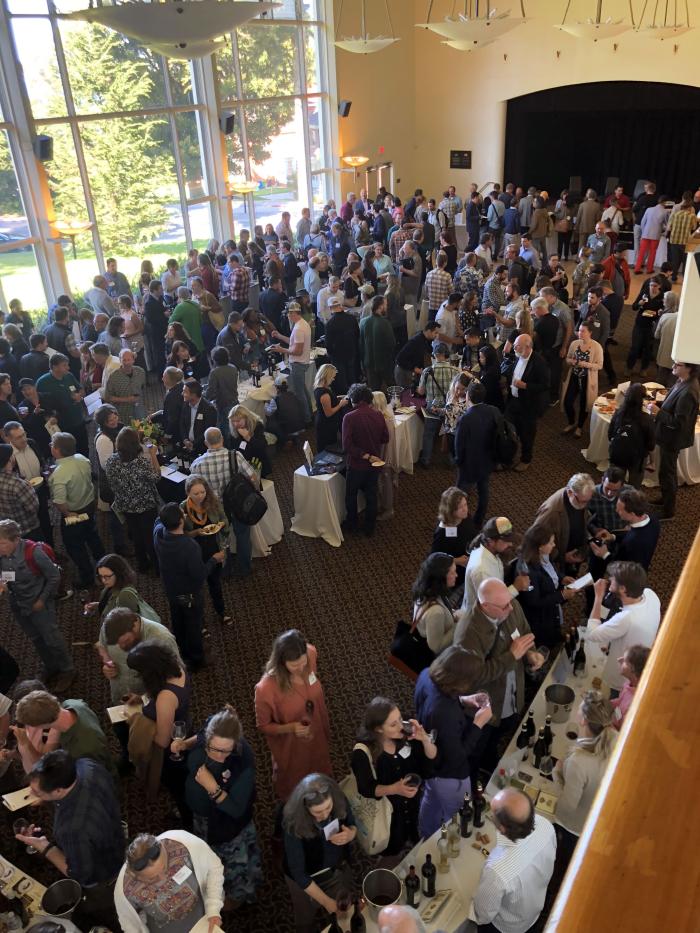 Biodynamic conference crowd