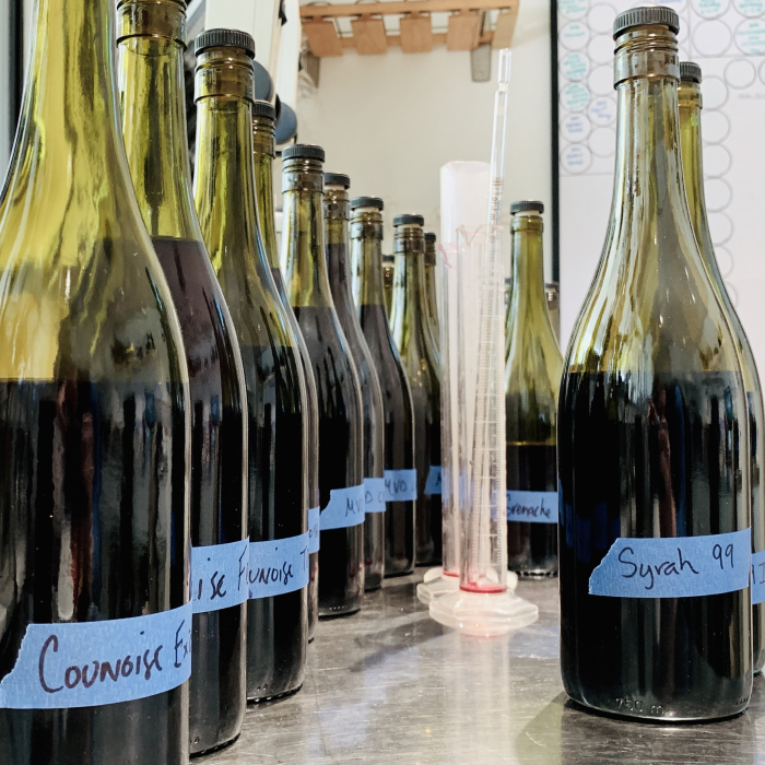 Blending components - 2018 reds