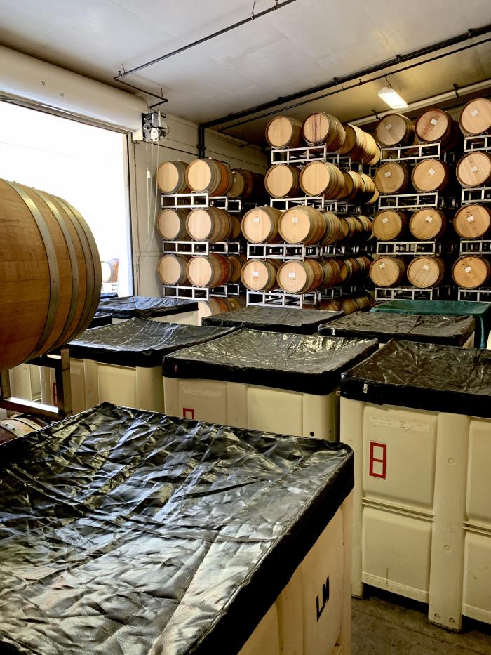 Barrel cellar room