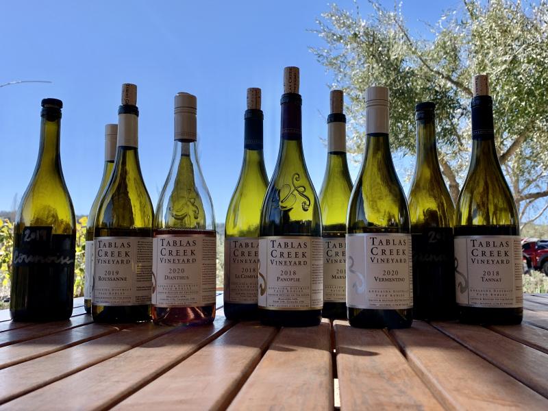Spring 2021 Shipment Tasting Wines