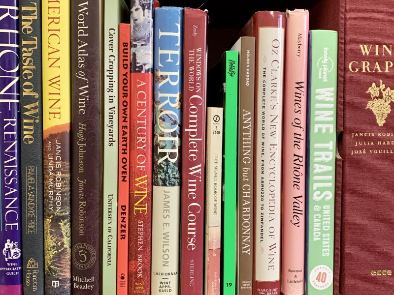 Tablas Creek Bookshelf