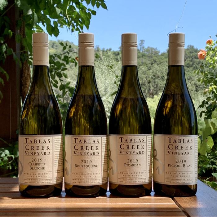 2019 white varietal wines