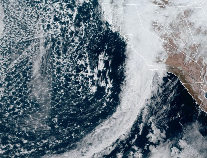 Atmospheric River Satellite Image
