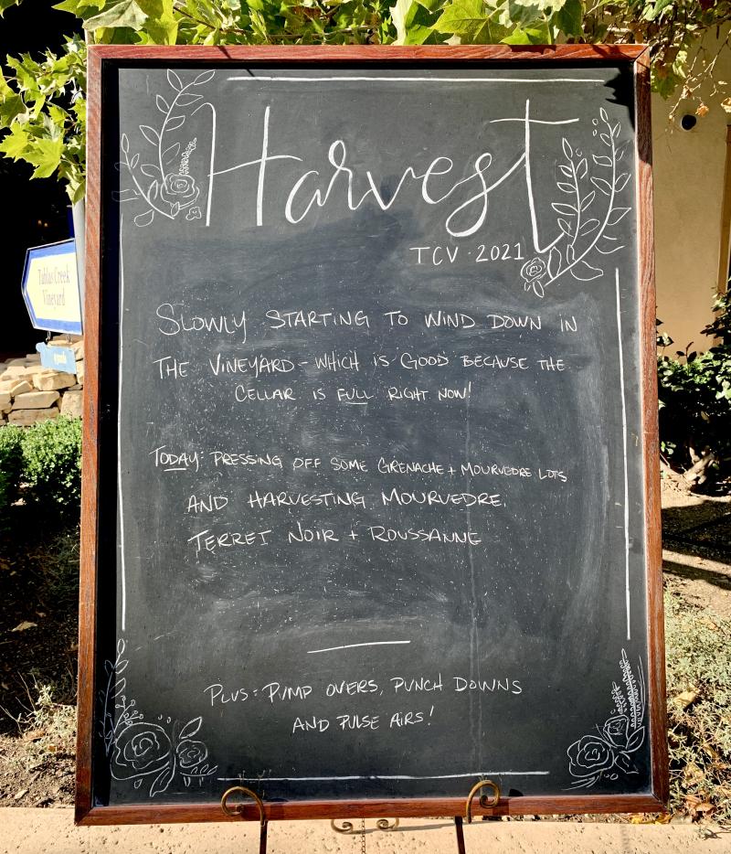 End of Harvest Chalkboard