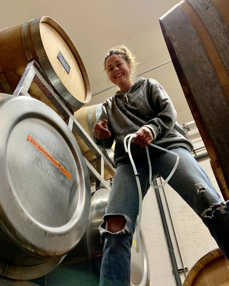 Kayja measuring fermentations Sept 2021