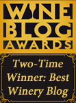 Wine Blog Awards Two-Time Winner for 'Best Winery Blog