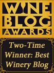 Wine Blog Awards Two-Time Winner for 'Best Winery Blog