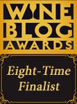 Wine Blog Awards Eight-Time Finalist