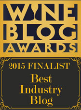 2015 Wine Blog Awards 'Best Industry Blog' Finalist
